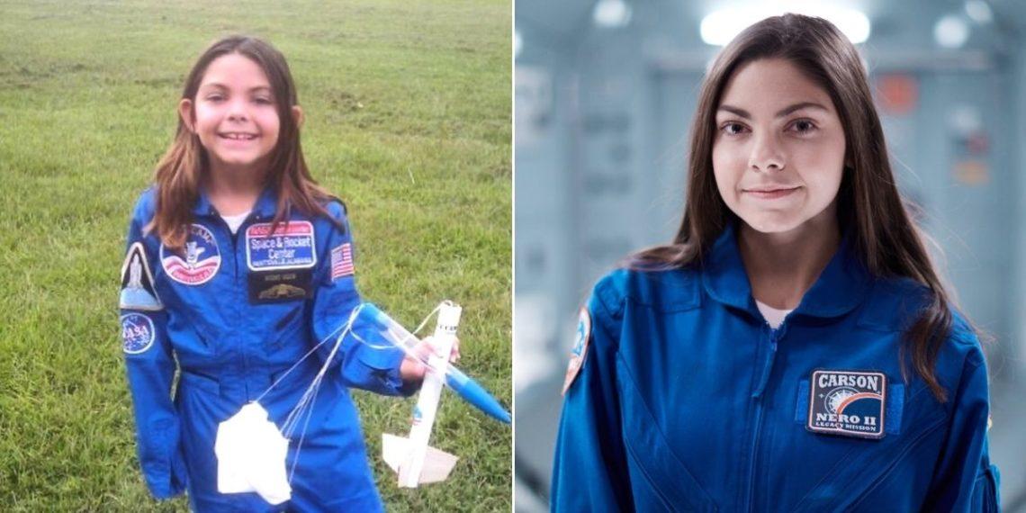 La astronauta Alyssa Carson se ha preparado toda su vida para llegar a Marte