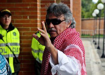 Jesús Santrich: Foto: EFE
