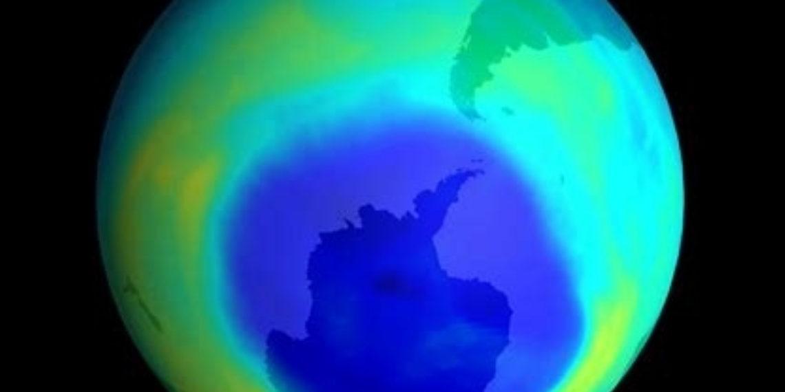 Agujero en la capa de ozono. Foto: NASA.