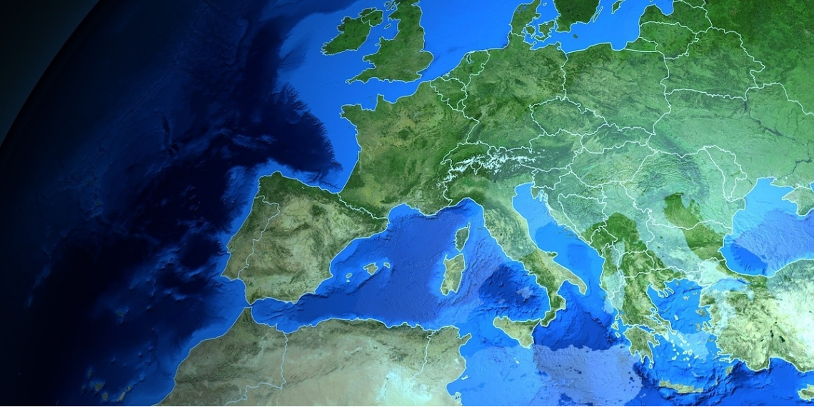 Continente europeo. Foto: Pixabay.