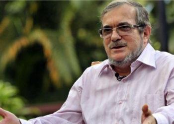 Rodrigo Londoño, presidente del partido  Farc. Foto: EFE