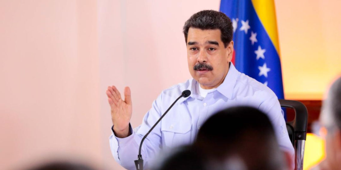 Maduro pide disciplina para manejar información de Noruega.