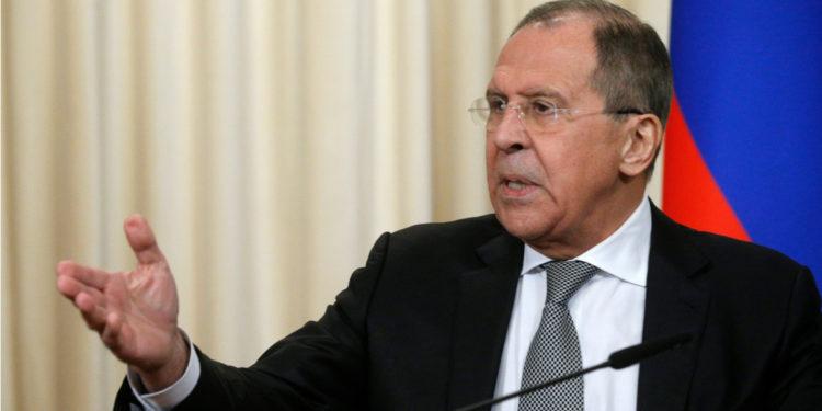Serguéi Lavrov, ministro de Asuntos Exteriores de Rusia. Foto: EFE