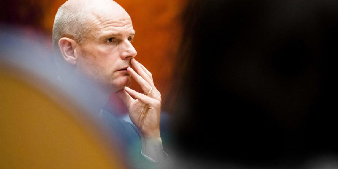 El ministro holandés de Asuntos Exteriores, Stef Blok. Bart Maat/AFP