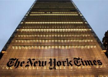 El diario estadounidense The New York Times cuestionó al gobierno de Colombia frente a su compromiso con el acuerdo de paz. Foto: EFE.