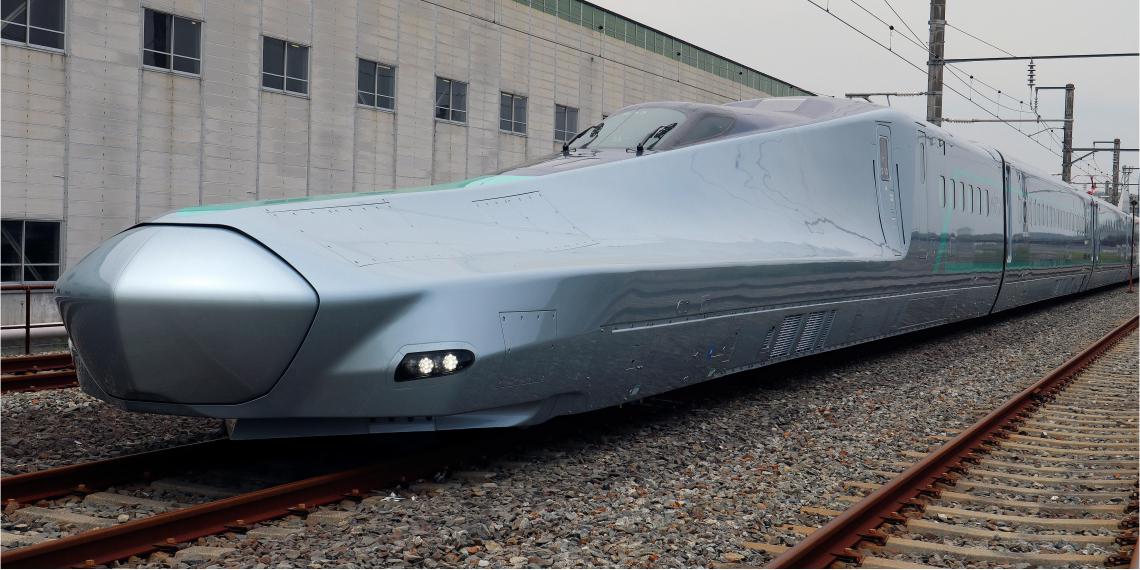 El modelo Alfa X ha alcanzará una velocidad máxima de 400 kilómetros por hora y ha iniciado sus primeras pruebas de funcionamiento. Foto: EFE.