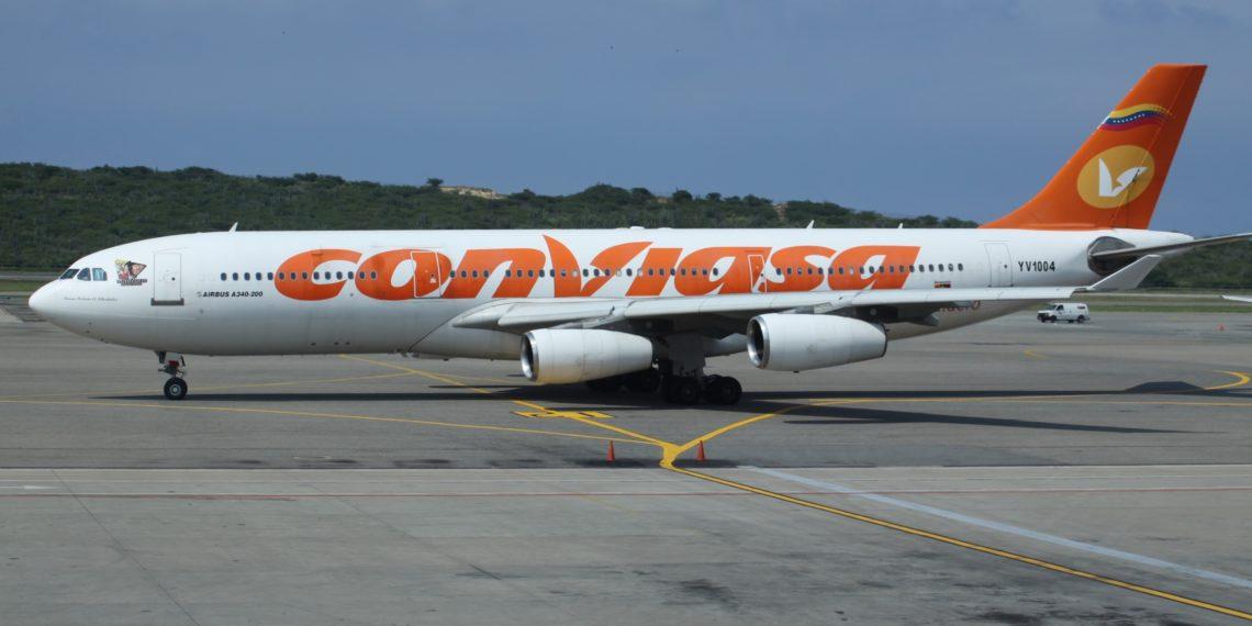 América Digital - Avión de la aerolínea Conviasa de Venezuela.