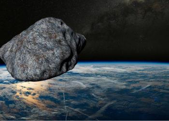 Imagen de referencia de un asteroide