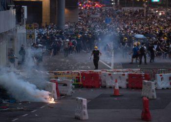 Las calles de Hong Kong hierven por la Ley de Extradición