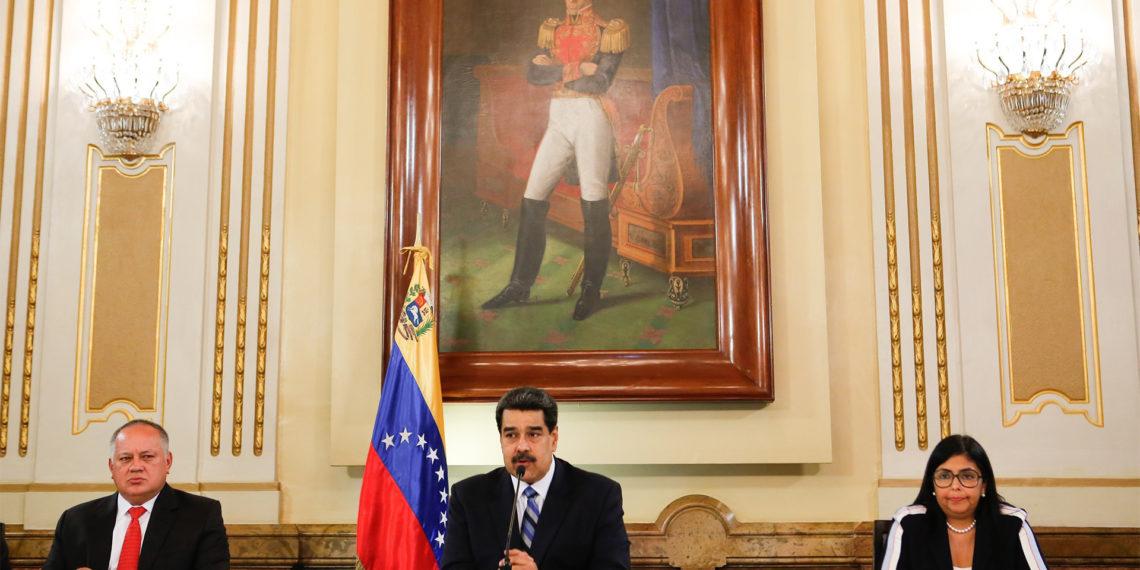 CARACAS (VENEZUELA), 04/06/2019. EFE/PRENSA MIRAFLORES/ NO VENTAS/ SOLO USO EDITORIAL