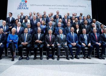 G20 de Finanzas prevé crecimiento moderado de la economía mundial