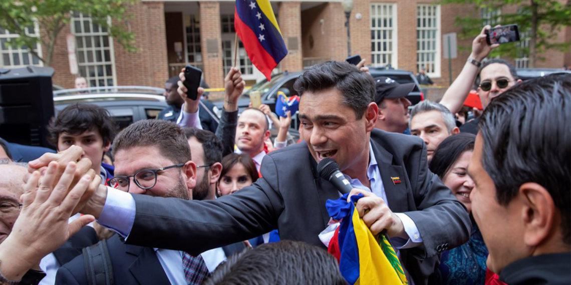 Carlos Vecchio, el representante en los EEUU de Juan Guaidó. EFE