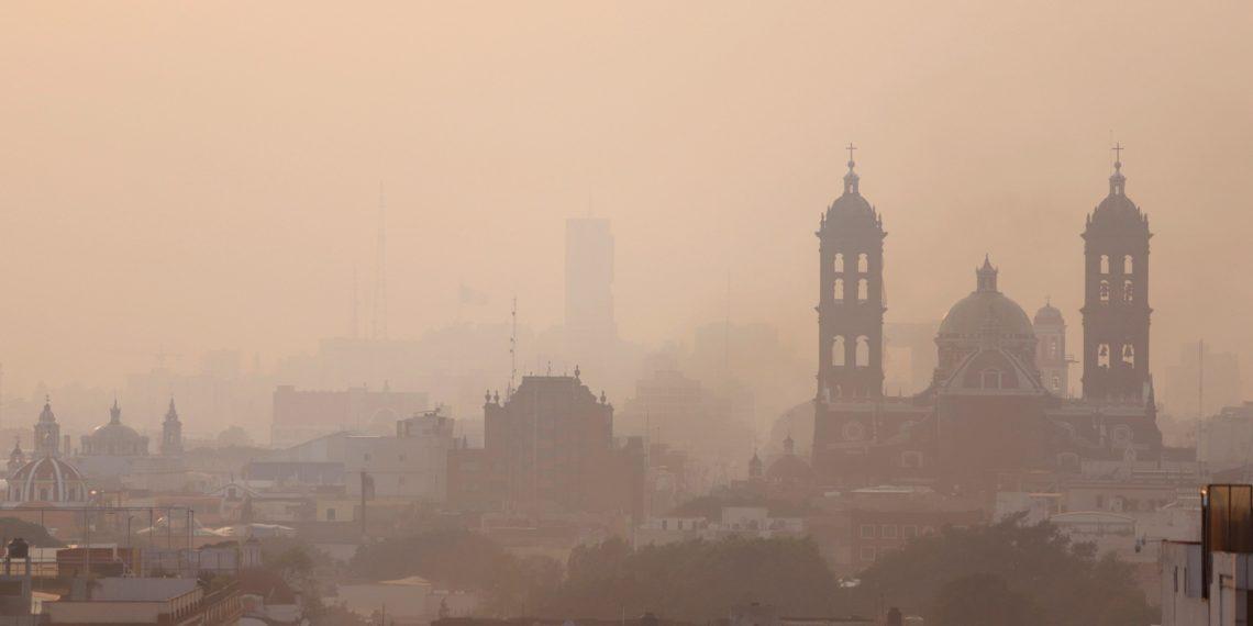 Contaminación del aire en México. Foto: EFE