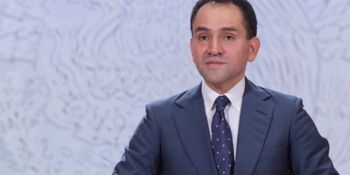 Arturo Herrera, ministro de Hacienda de México. Crédito: Sashenka Gutierrez | EFE