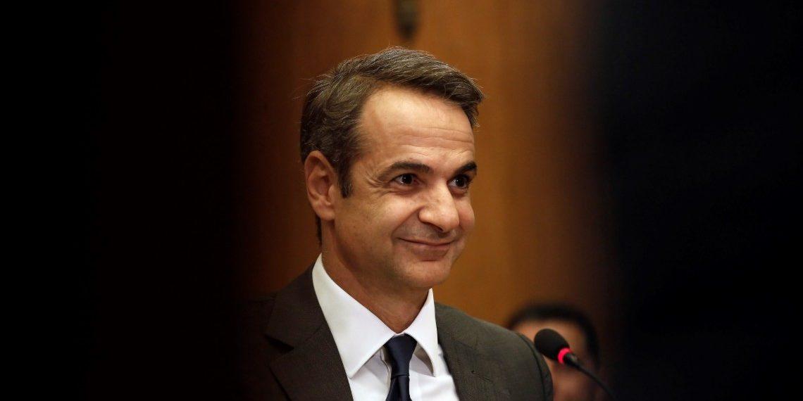 Jefe de gobierno griego, Kyriakos Mitsotakis. Crédito: EFE/EPA/KOSTAS TSIRONIS | EFE