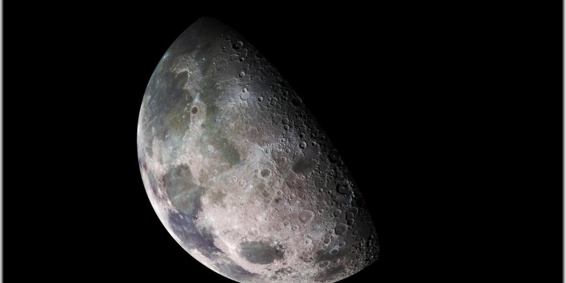 La Luna desde la Tierra. Foto: NASA