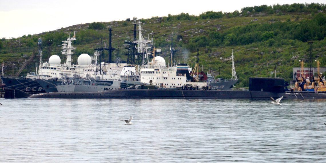Mueren catorce personas en incendio de submarino ruso. Kseniya GAPONKO / AFP