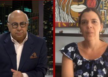 Periodista Ronna Risquez en entrevista con César Miguel Rondón