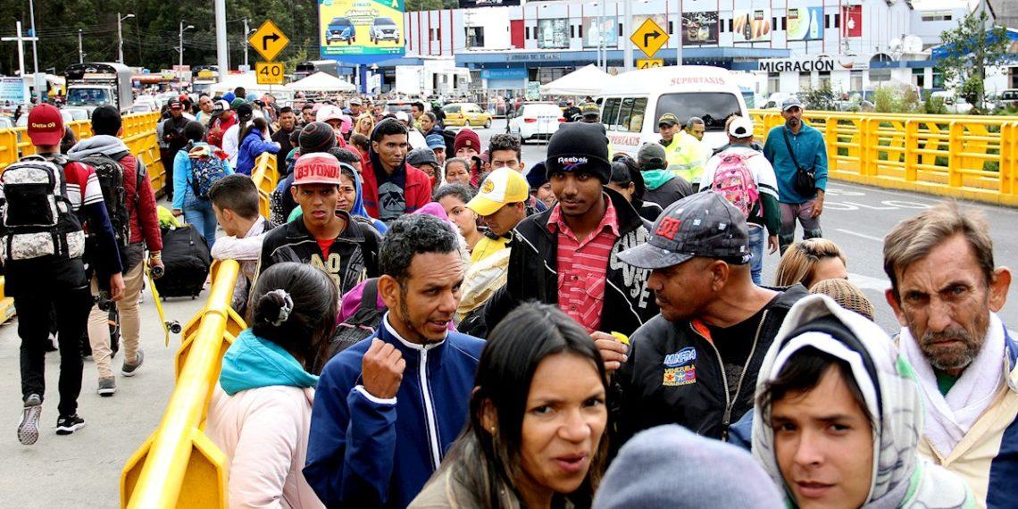 10.000 venezolanos podrían llegar a Ecuador este fin de semana