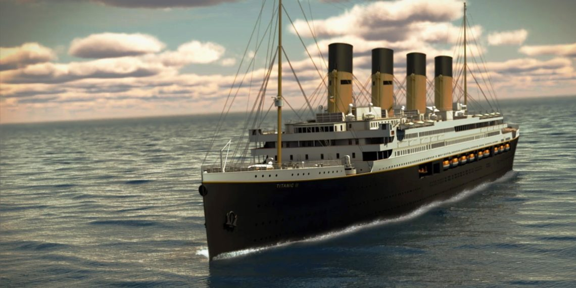 Imagen artística del Titanic. Foto: EFE