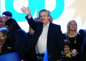 El candidato presidencial de Argentina, Alberto Fernández.  Foto: EFE/ Enrique Garcia Medina