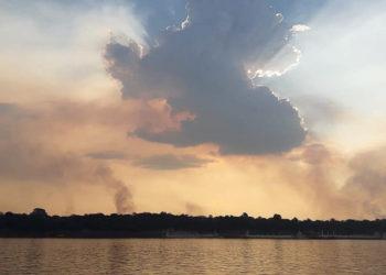 Incendios en la Amazonía. Foto: EFE