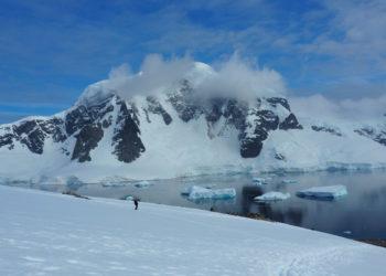 La Antártida registró una temperatura récord de 18,3 grados centígrados. Foto: EFE