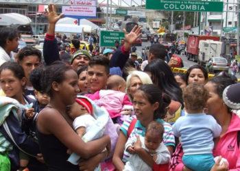 Migrantes venezolanos piden al presidente de Ecuador «abrir su corazón»