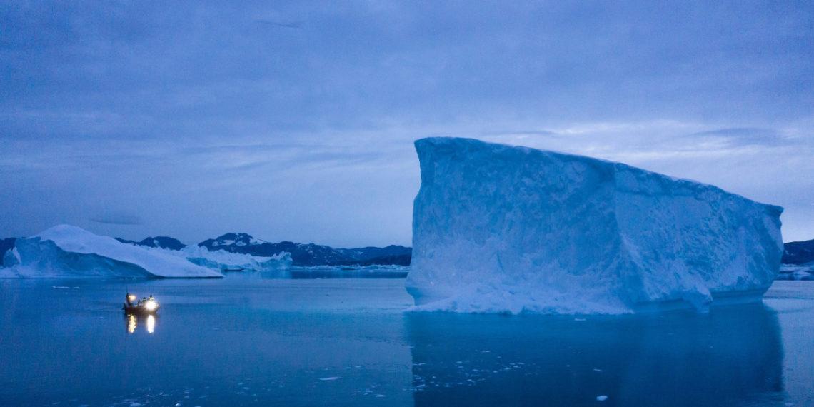 Foto: Deshielo en Groenlandia. Foto: AP