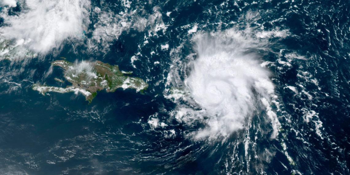 Imagen satelital del huracán Dorian. Foto: NOAA/ AP