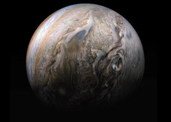 Imagen de Júpiter. Foto: NASA
