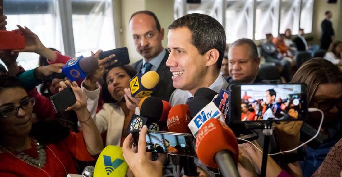 Guaidó: «No nos van a detener en la lucha a través de la fuerza»