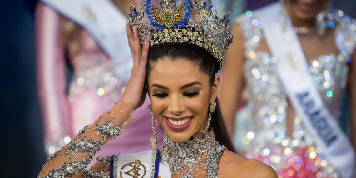 Thalía Olvino fue la vencedora en el certamen de Miss Venezuela