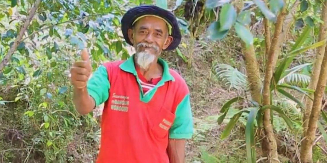 abuelo sadiman siembre árboles y recupera el agua de un bosque