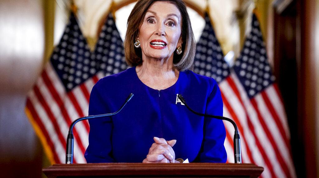 Nancy Pelosi, presidenta de la Cámara de Representantes de EE.UU. Foto: AP