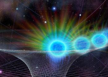Ilustración del agujero negro. Foto: UCLA/ Nicolle Fuller / Fundación Nacional de Ciencias.