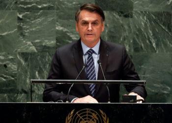 Jair Bolsonaro, presidente de Brasil. Foto: AP
