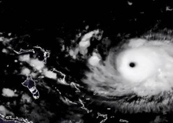 Huracán Dorian. Foto: NOAA
