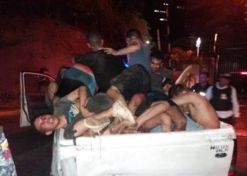 Dos fugas masivas se registraron en Caracas de instituciones policiales