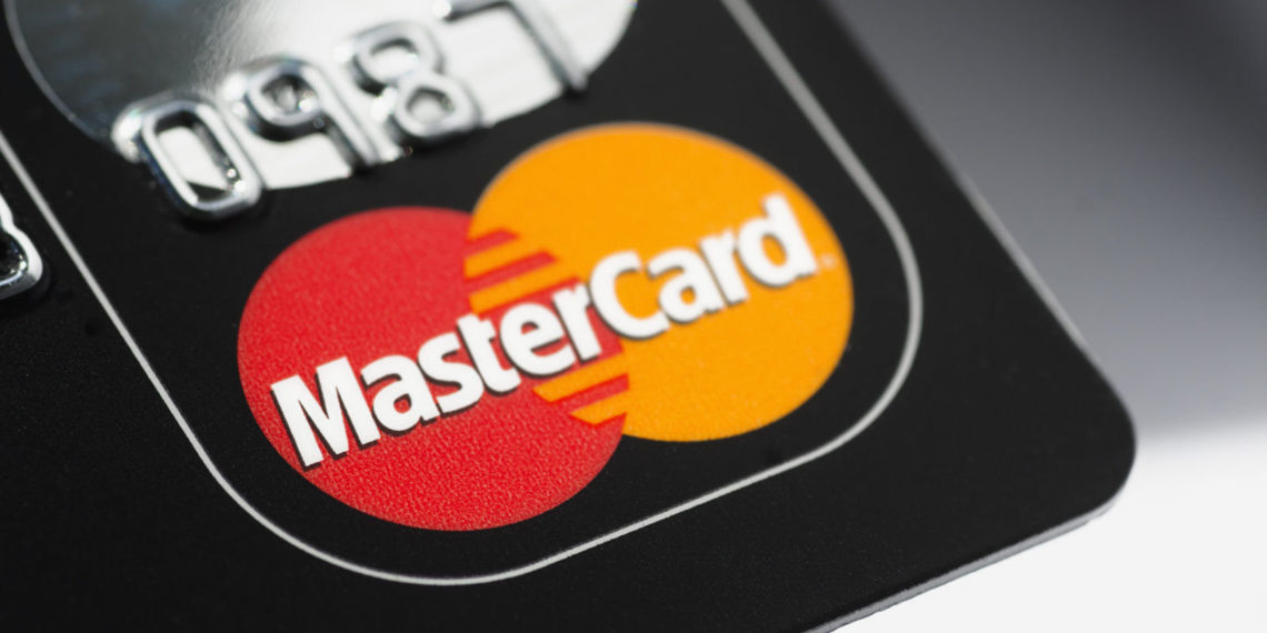 """Muenster, Germany - April 9, 2011: A close up macro shot of a Mastercard credit card. Mastercard is one of the biggest credit card companies in the world."""
