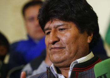 El presidente de Bolivia, Evo Morales. Foto: AP