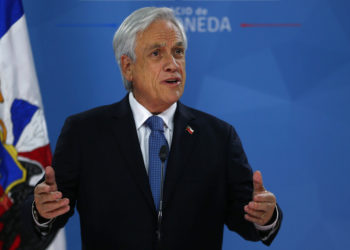 El presidente de Chile, Sebastián Piñera. Foto: AP