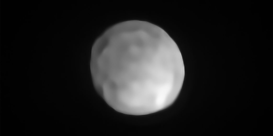 Foto: Observatorio Europeo del Sur (ESO) / P. Vernazza et al./MISTRAL algorithm.