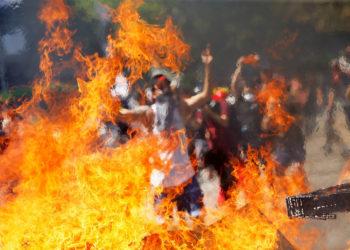 Las protestas en Chile ya completan cinco días y han dejado más de 30 muertos. Foto: EFE
