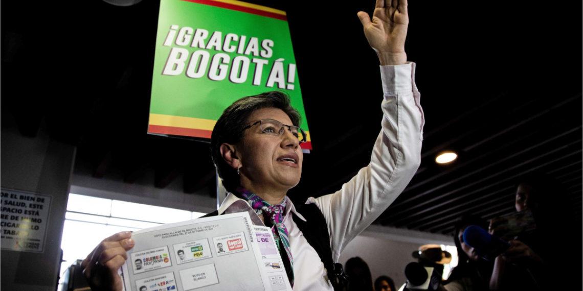 Claudia López es elegida como nueva alcaldesa de Bogotá. Foto: EFE
