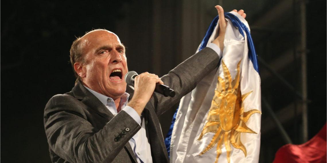 Daniel Martínez, candidato del Frente Amplio por la presidencia de Uruguay. Foto:AP