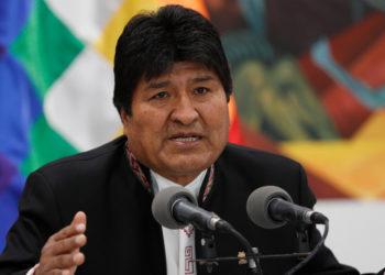 El expresidente de Bolivia, Evo Morales. Foto: AP