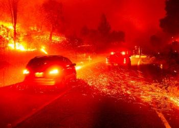 Incendios en California. Foto: AP