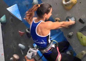 Joven escaladora de Guárico se prepara para ir a las Olimpiadas de Tokio 2020