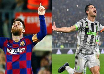 Lionel Messi y Cristiano Ronaldo. Foto: EFE